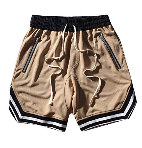 Jotebriyo Men Capri Plus Size Washed Denim Summer Hip-Hop Loose Fit Shorts