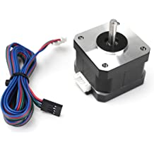Yeeco 2PCS DC Stepper Motor 34mm 1.33A 12V 0.3Nm 42 High Torque Low Noise Biopolar Electric DC Step Motor with Cable for 3D Printer Engraving Machine
